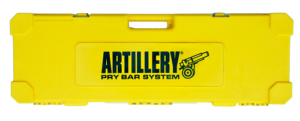 yellow case artillery tools small